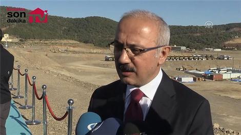 """""""Türkiye'nin en büyük projesi burada gerçekleştiriliyor"""""""