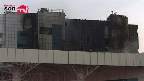 Taksim Eğitim ve Araştırma Hastanesi'ndeki yangın kontrol altına alındı.