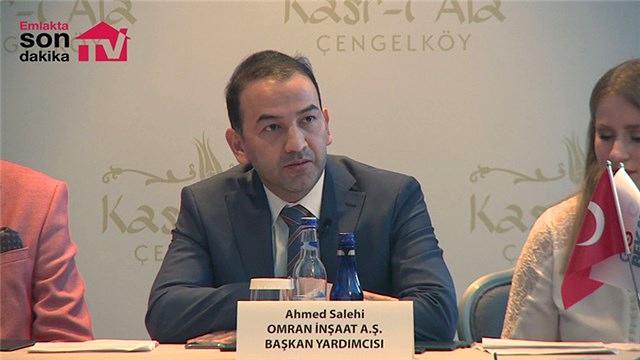 Ahmed Salehi Omran İnşaatı anlattı