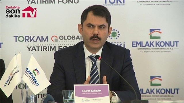 Murat Kurum Gayrimenkul Yatırım Fonu'nun detaylarını anlattı