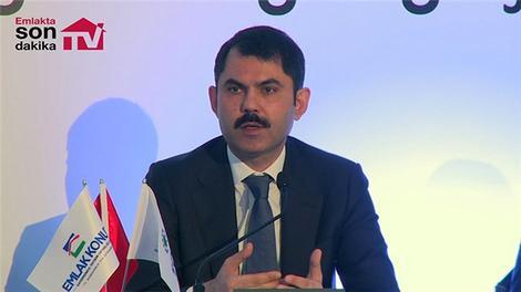 Murat Kurum, Cer İstanbul'un lansmanına katıldı