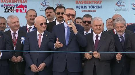 Başkentray açılış töreni yapıldı