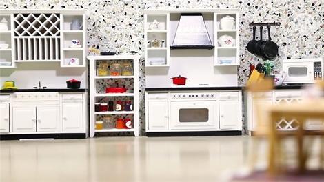 Mini Türk Mutfağı'nın yemekleri de mini boyutlarda!