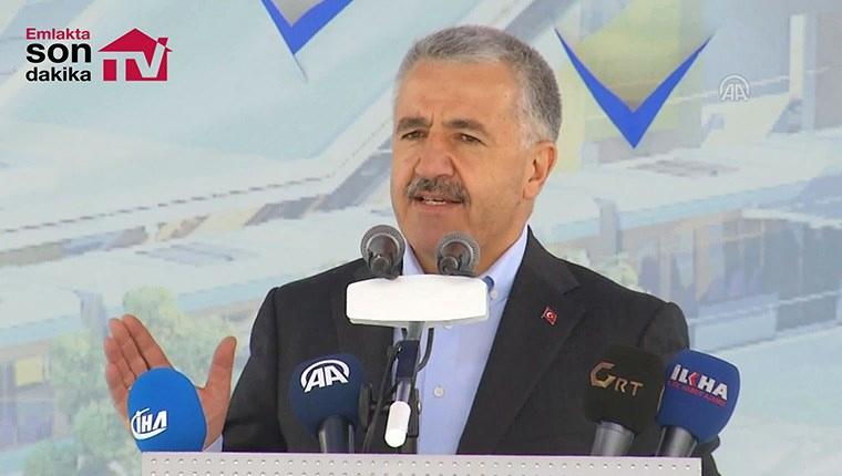 Bakan Arslan GAZİRAY'ın temel atma törenine katıldı