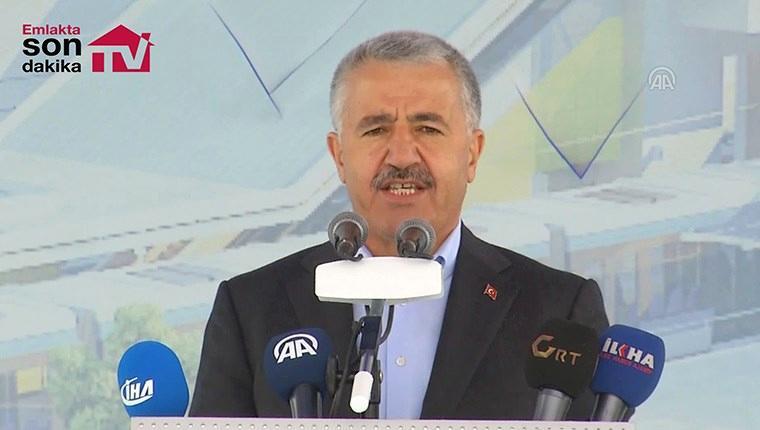 Bakan Arslan: ''Toplam 19 kilometre tünel yapacağız''