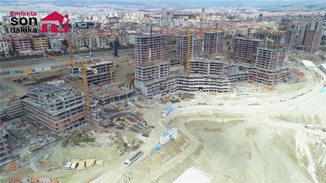 Başkent Emlak Konutları inşaatında son durum!