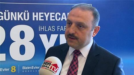 İhlas Yapı'nın yeni projelerini Recai Akdoğan anlatıyor!
