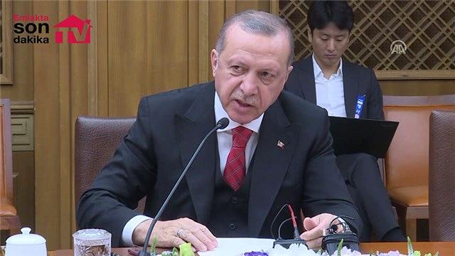 Cumhurbaşkanı Erdoğan Kanal İstanbul'la ilgili açıklama yaptı