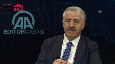 Bakan Arslan'dan 3 Katlı Büyük İstanbul Tüneli açıklaması