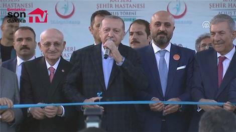 Kayseri Şehir Hastanesi açılış töreni