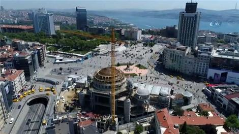 Taksim Camisi son durum!