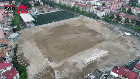 Trabzon eski stadı ''Millet Bahçesi