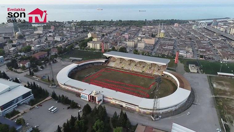 """Samsun eski stadı """"Millet Bahçesi"""" olacak"""