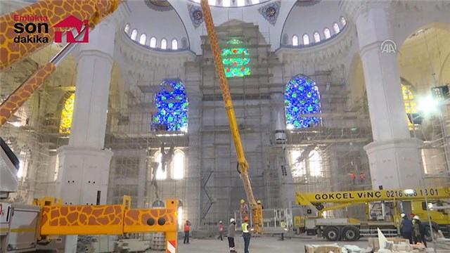 Çamlıca Cami inşaatında son durum!