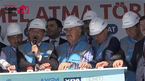 Yozgat Havalimanı Temel Atma Töreni