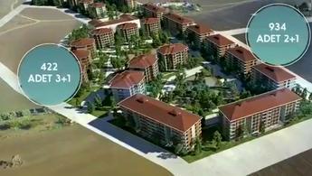 İstanbul Silivri'de inşası devam eden 1356 konut, kura yöntemiyle satışa sunuldu.