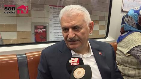 """Başbakan Yıldırım'dan """"Kanal İstanbul"""" açıklaması"""