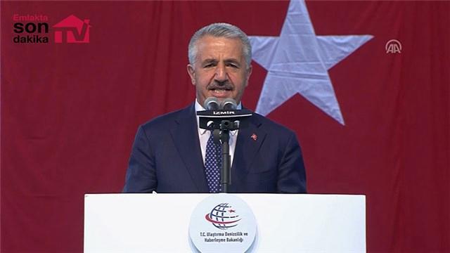 Bakan Arslan, Sabuncubeli Tüneli açılış töreninde konuştu