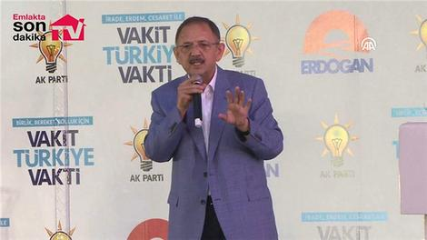 """Bakan Özhaseki: """"Türkiye'yi depreme hazırlayacağız"""""""