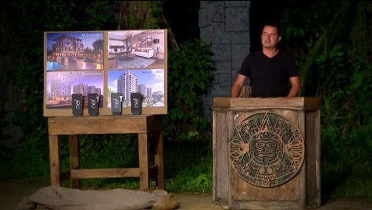 Survivor'da ödül oyununu kazanan yarışmacılara Nef'ten 4 ev!