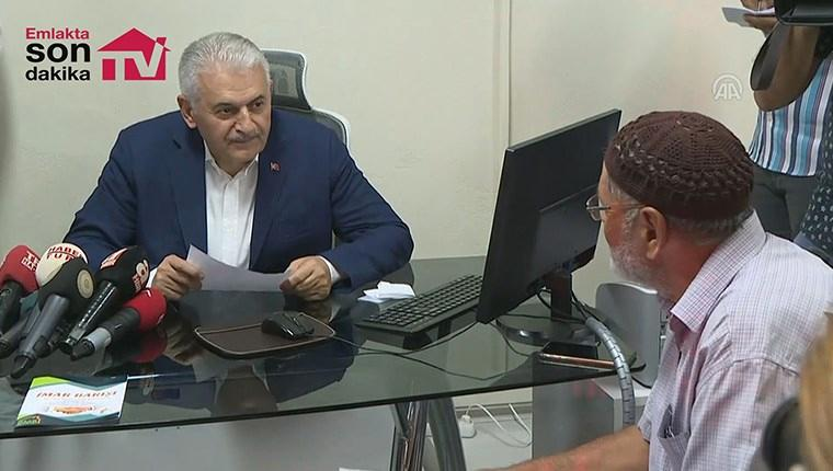 Başbakan Yıldırım: ''İzmir'deki binaların yüzde 62'si imarsız''