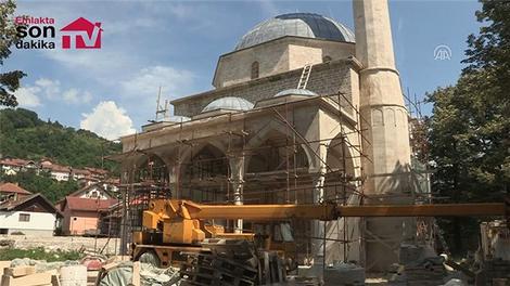 """""""Bosna'nın incisi"""" Alaca Cami küllerinden doğuyor"""