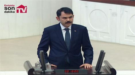 Çevre ve Şehircilik Bakanı Murat Kurum'un yemin töreni