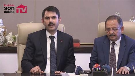 Çevre ve Şehircilik Bakanı Murat Kurum'un devir teslim konuşması