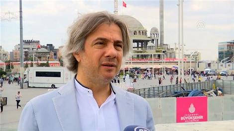 Ahmet Misbah Demircan Taksim Camisi'ni anlattı