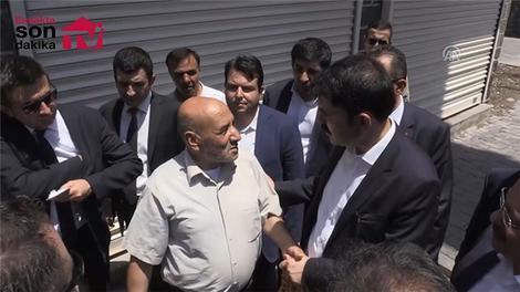 Çevre ve Şehircilik Bakanı Kurum, ziyaretlerde bulundu