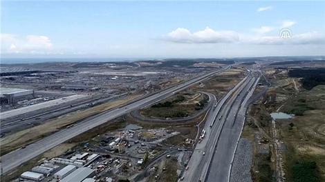 İstanbul Kuzey Marmara Otoyolu İnşaatında son durum!