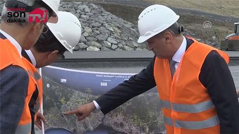 Ulaştırma Bakanı, İstanbul Kuzey Marmara Otoyolu hakkında açıklamalarda bulundu
