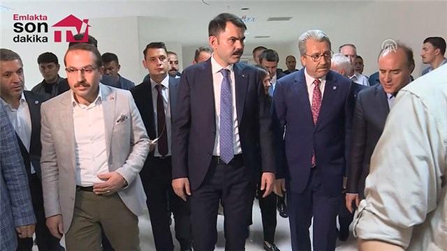 Bakan Kurum, İzmir projelerinde incelemelerde bulundu