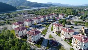 TOKİ Zonguldak projesi havadan görüntülendi