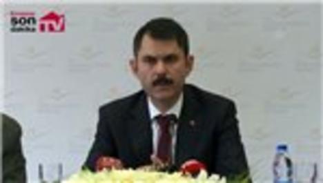 Bakan Kurum, kentsel dönüşümle ilgili açıklamalarda bulundu!