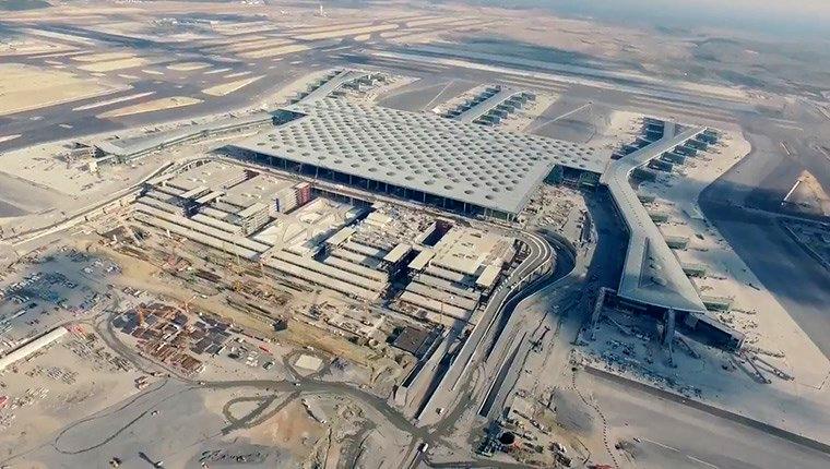3. Havalimanı inşaatında son durum!