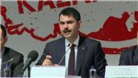 Bakan Murat Kurum kazanç kampanyasını anlatıyor