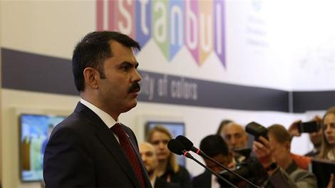 Bakan Murat Kurum Moskova Proestate Fuarı'nda konuştu