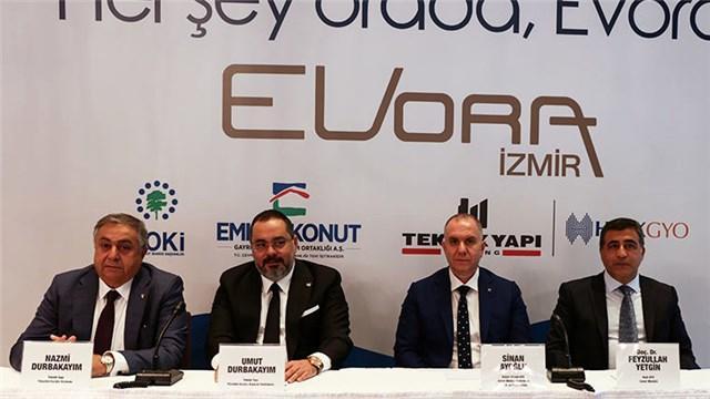 Evora İzmir basına tanıtıldı