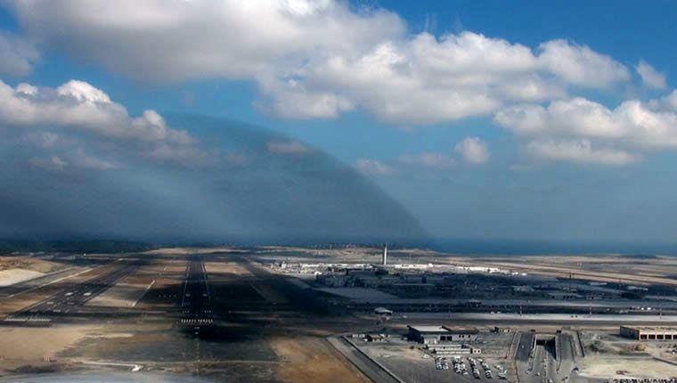 İstanbul yeni havalimanına iniş yaptık!