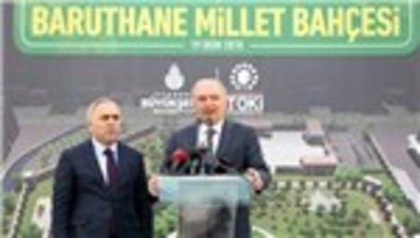 Baruthane Millet Bahçesi 8 Kasım'da açılıyor