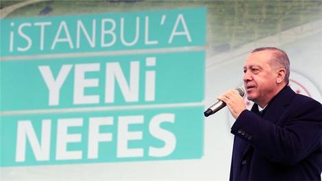 Cumhurbaşkanı Erdoğan 5 Millet Bahçesi'nin açılışını yaptı