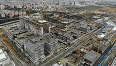 Başakşehir Şehir Hastanesi inşaatından son görüntüler!