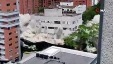Pablo Escobar'ın evi böyle yıkıldı!