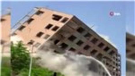 Bahçelievler'de kontrollü yıkım kontrolden çıktı
