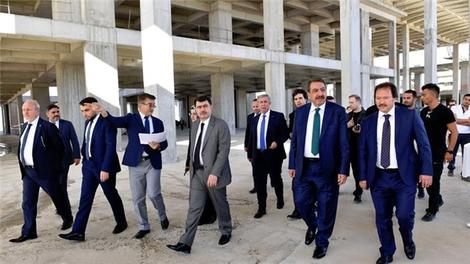 Ankara Uluslararası Fuar Alanı inşaatı devam ediyor