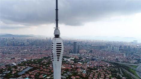 Çamlıca Kulesi'ne iki parça daha eklendi