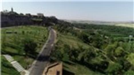 Diyarbakır ve Güneydoğu'nun ilk Millet Bahçesi havadan görüntülendi