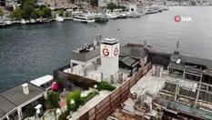 Galatasaray Adası havadan görüntülendi