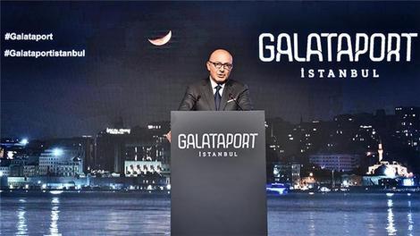 Ferih Şahenk Galataport'u anlatıyor